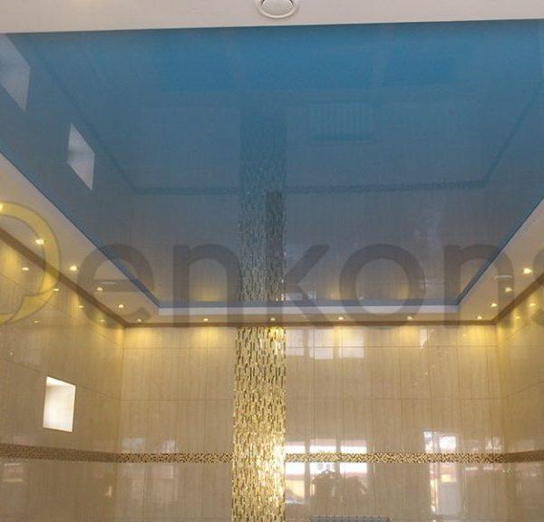 Натяжной потолок в ванной комнате - Проект 2