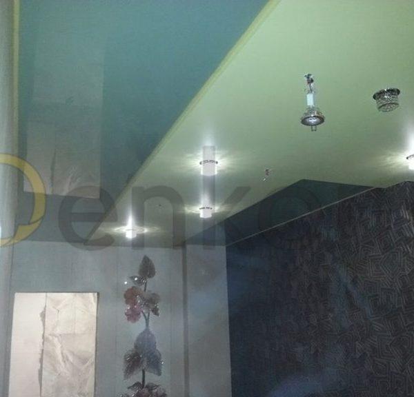 Натяжной потолок в ванной комнате - Проект 3