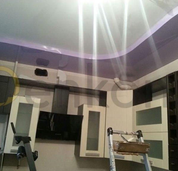 Натяжные потолки на кухню - Проект 4