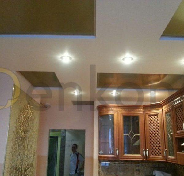 Натяжные потолки на кухню - Проект 6