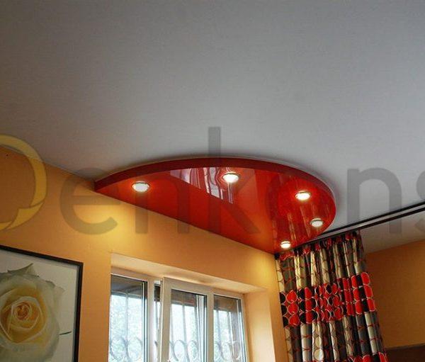 Натяжные потолки на кухню - Проект 8