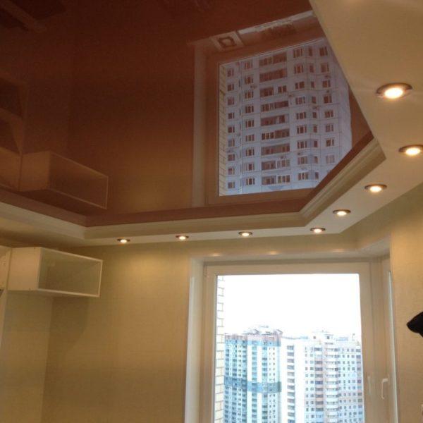 Натяжные потолки на кухню - Проект 9