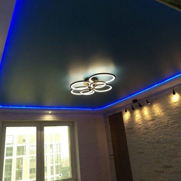 Натяжные потолки на кухню - Проект 10