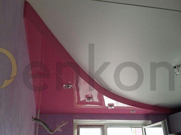 Натяжные потолки на кухню - Проект 7