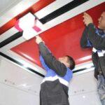 Услуги по монтажу натяжных потолков в нашей компании включают в себя