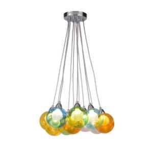 Подвесная светодиодная люстра Arte Lamp Pallone A3026SP-11CC