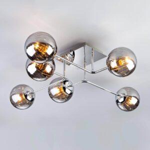 Потолочный светильник Eurosvet 30140/6 хром