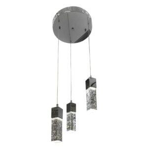 Подвесная светодиодная люстра Kink Light Аква 08510-3A(4000К)