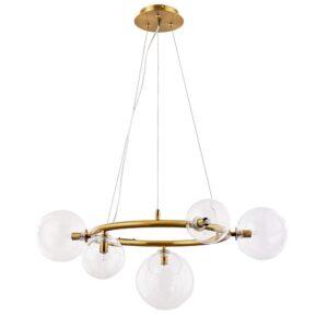 Подвесная люстра Arte Lamp Albus A7780SP-5AB