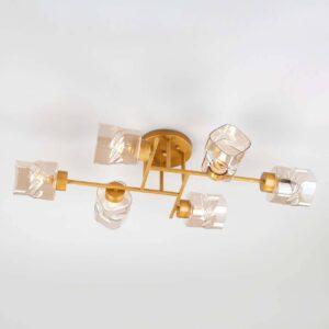 Потолочная люстра Eurosvet Hilari 30165/6 перламутровое золото