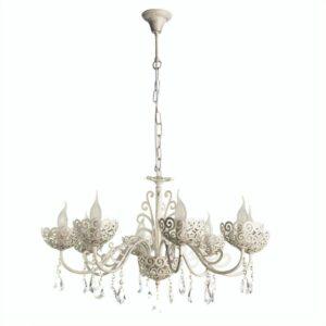 Подвесная люстра Arte Lamp Fleece A4554LM-8WG