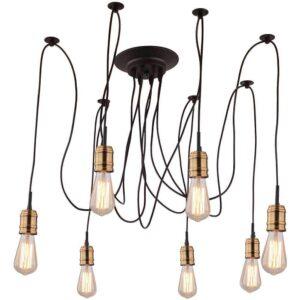 Подвесная люстра Arte Lamp Mazzetto A4290SP-7BK