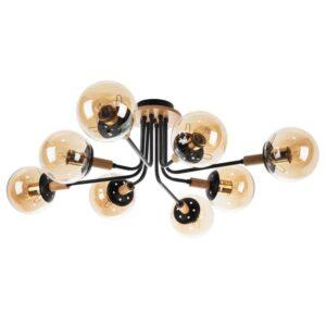 Потолочная люстра Arte Lamp Oxford A2716PL-8BK
