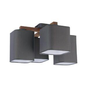Потолочный светильник TK Lighting 4166 Tora Gray