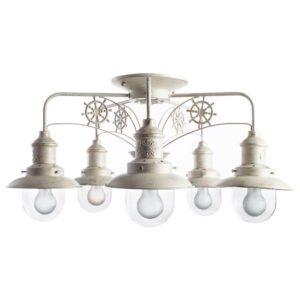 Потолочная люстра Arte Lamp Sailor A4524PL-5WG