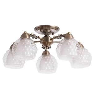 Потолочная люстра Arte Lamp Malina A7695PL-5AB