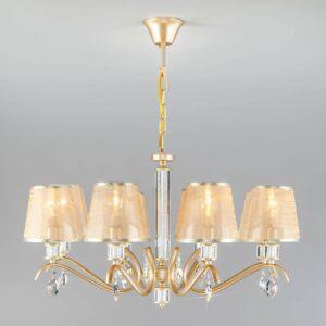 Подвесная люстра Eurosvet Alcamo 60103/8 перламутровое золото