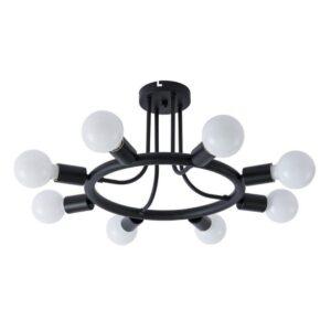 Потолочная люстра Arte Lamp A6063PL-8BK