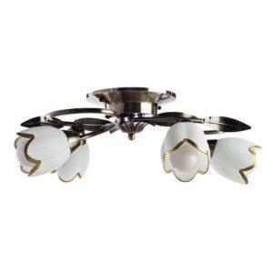 Потолочная люстра Arte Lamp 4 A6061PL-4AB