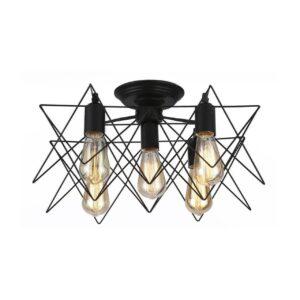 Потолочная люстра Arte Lamp A6048PL-5BK