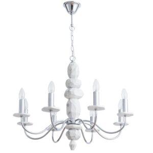 Подвесная люстра Arte Lamp A6062LM-8WH