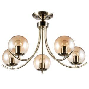 Потолочная люстра Arte Lamp Scarlett A2715PL-5AB